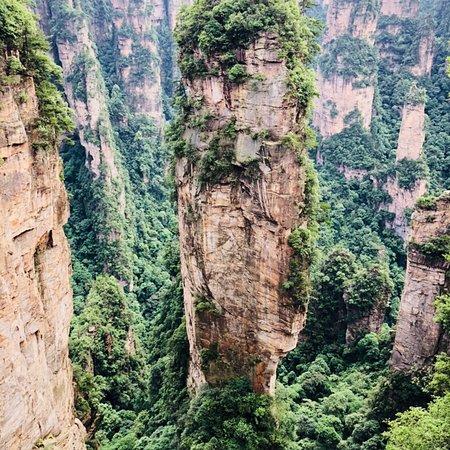Фотография Wulingyuan Scenic and Historic Interest Area of Zhangjiajie