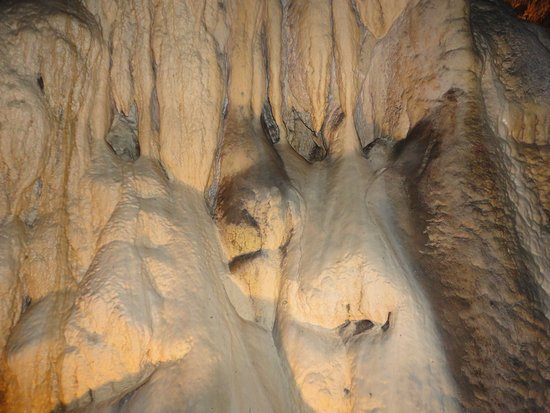 Metaline Falls, WA: some cave formations