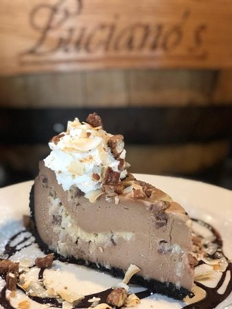 Luciano's: Chocolate Mousse Cheesecake