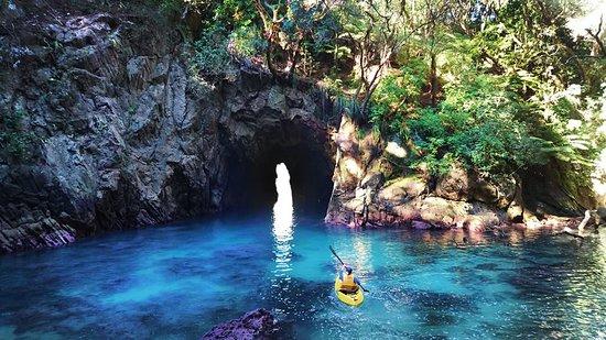Whangamata, New Zealand: Whenuakura Island