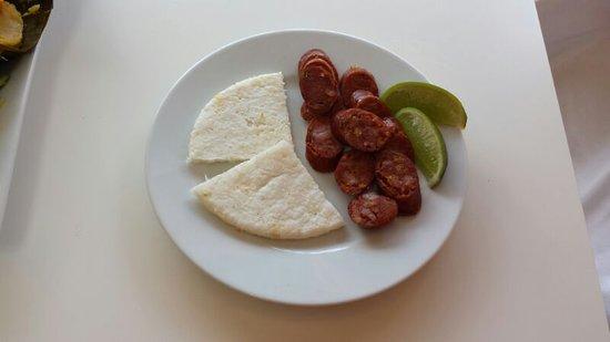 Barista Cafe: Chorizo