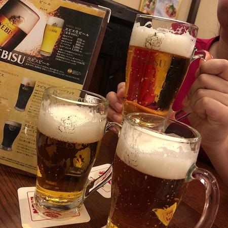 Beer Hall Ginza Lion, Ikebukuro West Entrance: エビスビール