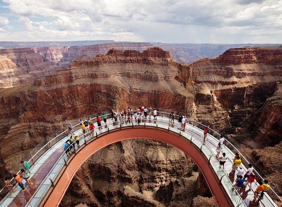 Scary Thin Glass Review Of Grand Canyon Skywalk Hualapai