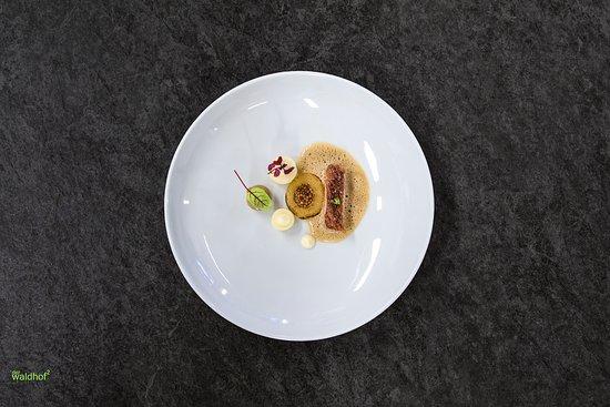 Gourmetküche im Waldhof bei Meran
