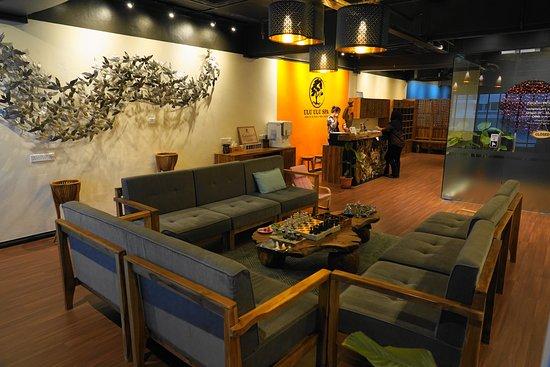 Waiting Area Picture Of Ulu Ulu Spa Kota Kinabalu