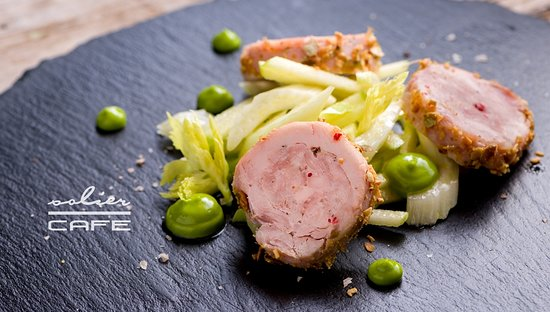 Solier Cafe - Restaurant & Confectionary: Rabbit terrin with green apple-celery salad