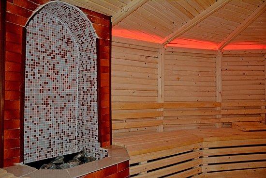 Baytur Resort: У нас помимо, лечение кумысом и кобыльим молоком есть уникальная баня.