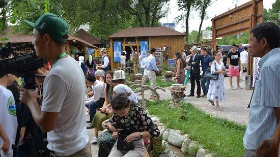 Baytur Resort: Наша кумысолечебница в кыргызстане на фестивале кымыза 2018