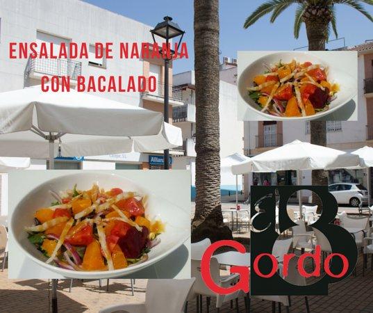 El Gordo Montoro: Ensalada de naranja y bacalao