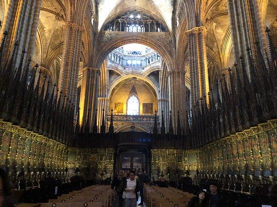 Barcelona Cathedral: il coro