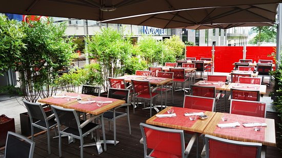 Red Square Restaurant & Bar: Red Sqaure Terrase2