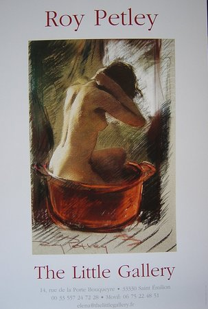 "The Little Gallery: ""The red bowl"" pastel by Roy Petley"