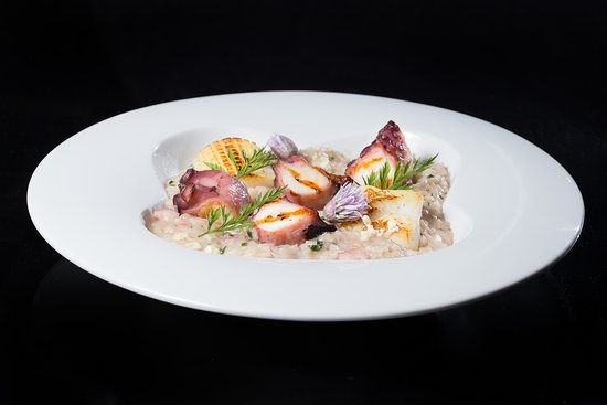 AdLib: Octopus Risotto and Cuttlefish with Coriander