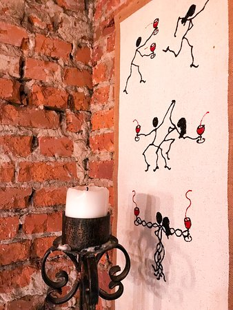 MiAmo Food & Wine: Grafika autorstwa Luca Carfagna z Panzano w Toskanii.