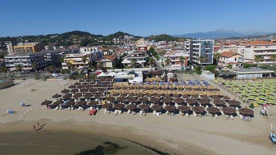 Gente Di Mare Stabilimento Balneare & Ristorante: vista aerea