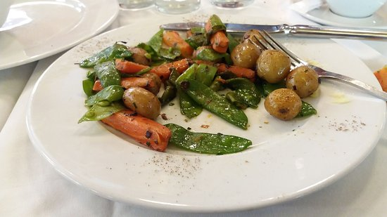 L'Alsace: Roasted vegetables