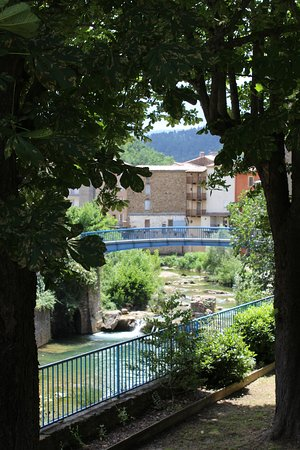 Rennes-les-Bains, Франция: Vue du village de Rennes les Bains