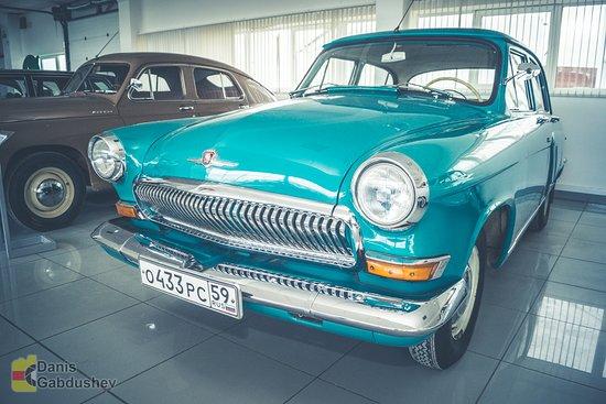 Perm Car Museum Retro Garage