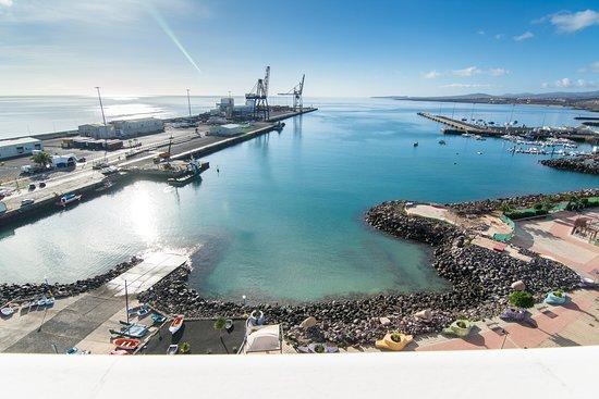JM Puerto Rosario: Vistas del Hotel JM Puerto del Rosario en Fuerteventura