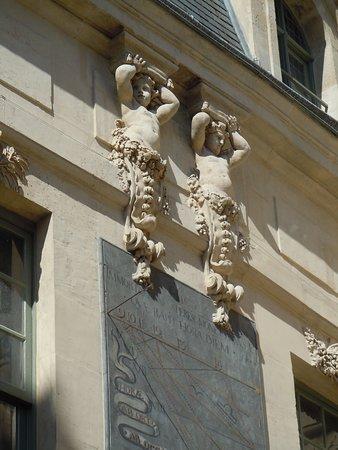 Hôtel des Ambassadeurs de Hollande: Intérieur de la première cour