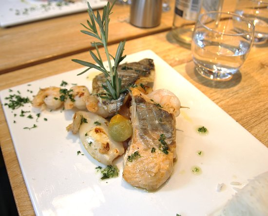 Red Square Restaurant & Bar: Suggestion du Chef