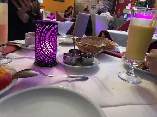 Indisches Restaurant Maharadscha: Mango lassi