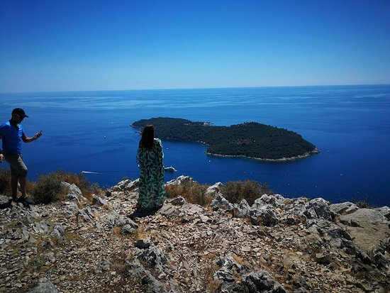 Panorama Tours: view on Lokrum island near Dubrovnik