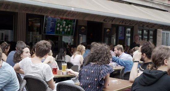 Brasserie La Nouvelle Poste: 🇫🇷 Allez les bleus ! 🇫🇷