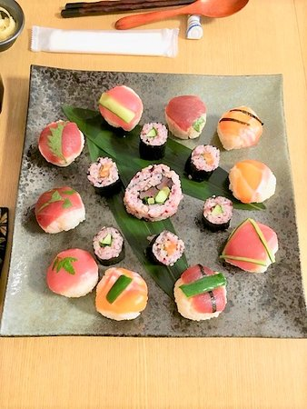 Cooking Class Japan Cross Bridge: sushi guest made