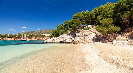 Costa d'en Blanes, España: Playa