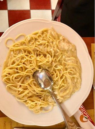 Ristorante Casa Nardon: Spaghetti cacio e pepe