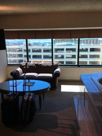 Eldorado Resort Casino: parking garage view