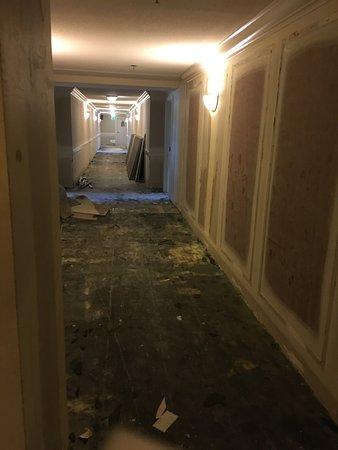 Eldorado Resort Casino: construction next to our room