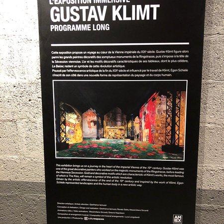 Atelier des Lumières: Gustav