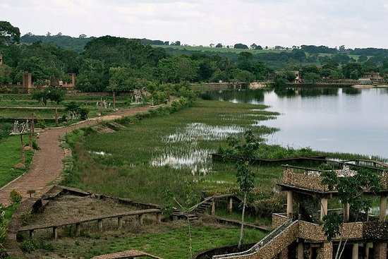 Hotel Fazenda Lago Ideia Molhada: Vista da Churrascaria