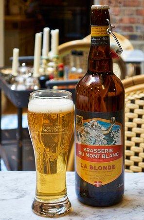 Le Vieux Comptoir: Brasserie du Mont Blanc 'La Blonde'