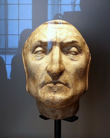 Mus.e Firenze: ダンテのデスマスク