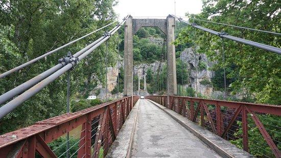 Chemin de Halage: Ponte sobre o Rio Lot