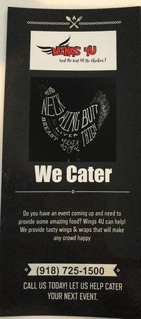 Cushing, Оклахома: We offer Catering