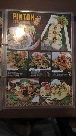 Vientiane Province, Laos: Great food