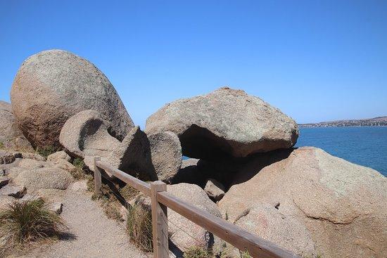 Kaiki Walk - Granite Island: An octopus rock