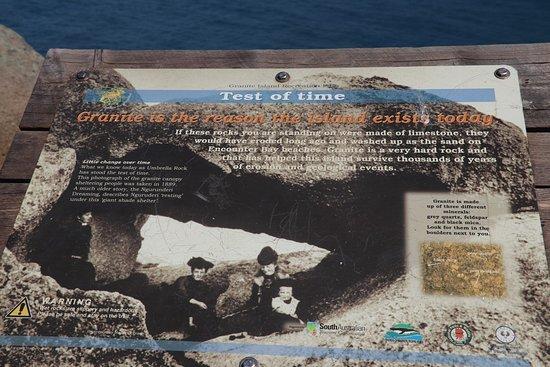Kaiki Walk - Granite Island: Historical content