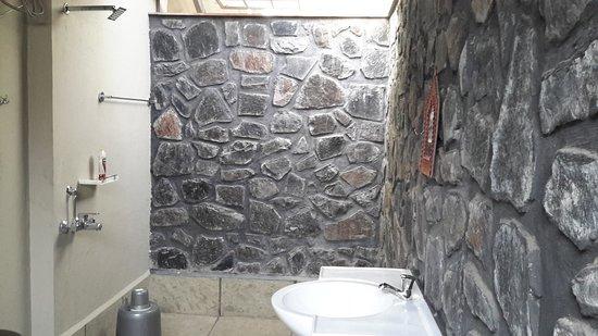 Gulmohar Homestay: Large bath room