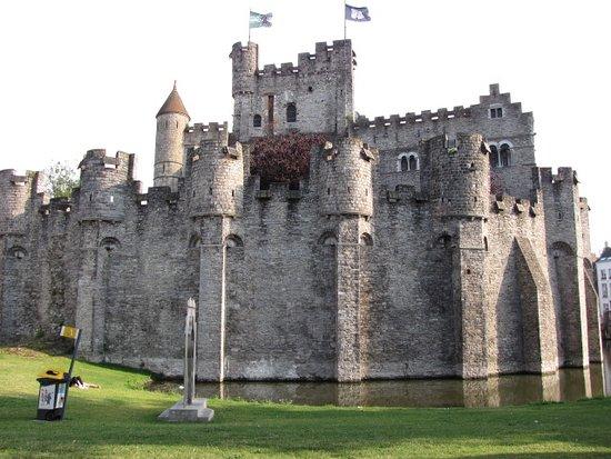 Gravensteen Castle - Outer view - No.1