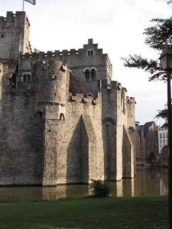 Gravensteen Castle - View from the canal - No. 1