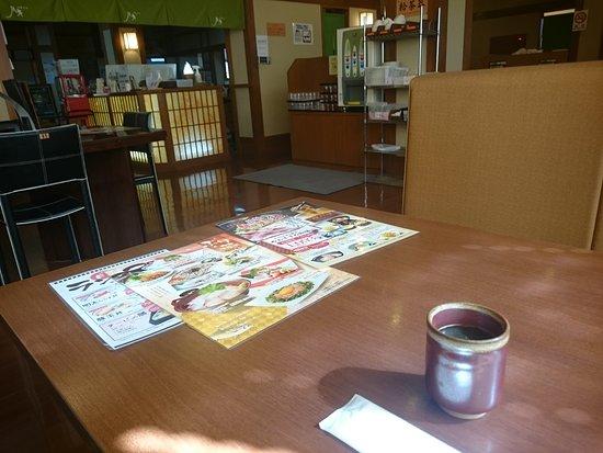 Mantennoyu: 館内の食事処