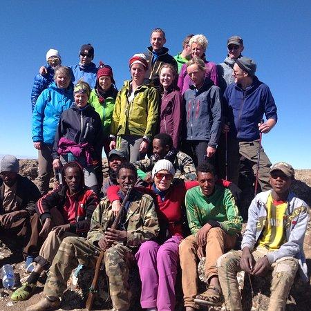 Lalibela Hidden Treasure Tour: On Top of Simien mountain Ras Dashen