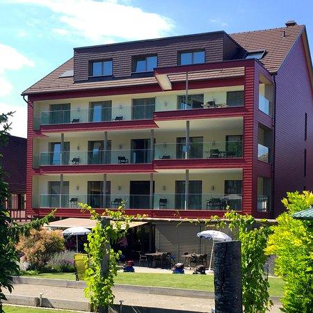 Berlingen, Schweiz: Hat einen praktischen Garten
