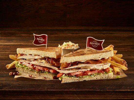 Hard Rock Cafe Lisboa - Club Sandwich