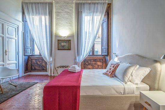 Terrace Pantheon Relais: Scorcio della Suite, la camera più prestigiosa con i suoi 30 m2